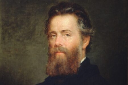 Portrait von Herman Melville von Joseph O. Eaton